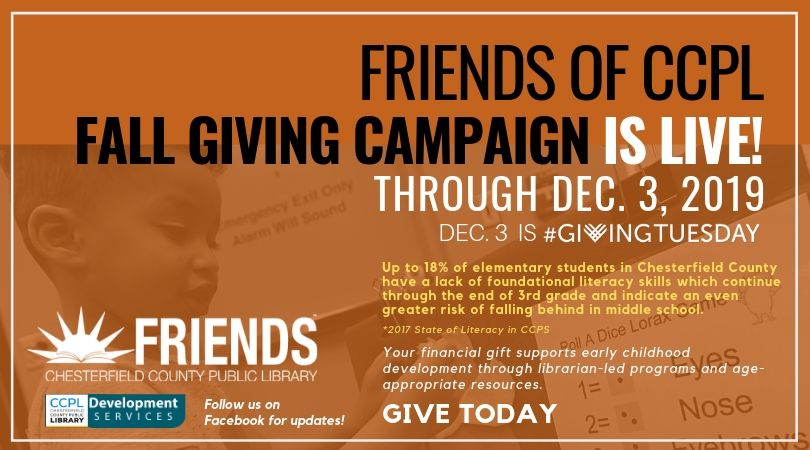 2019 Giving Campaign is Live!